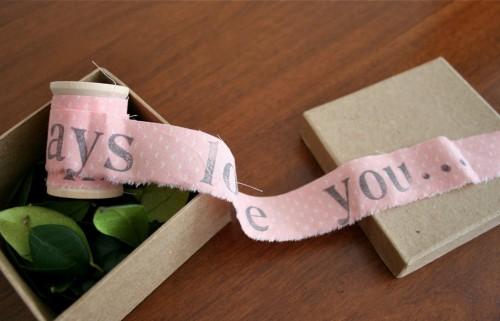 Unraveling a Letter {diy}
