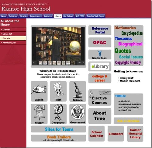 RHSDL website
